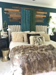 Boho Glam Bedroom by Blissfully Eclectic | Ocean Abyss