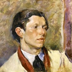 Richard Rogers by Henriette Wyeth Hurd (1907 – 1997)