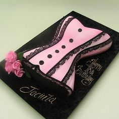 How to Make a Corset Cake | Corset Cake