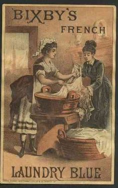 More vintage Victorian laundry pictures for the room!