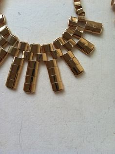 Statement necklace for a photo shoot
