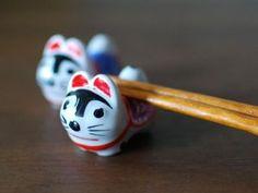 張子犬の箸置き Hariko dog chopsttick rest
