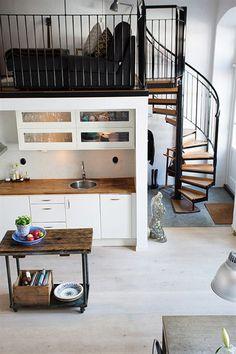 espacios pequenos 2 estilo nordico escandinavia estilonordico estilo industrial interiores diseno de interiores de lofts y aticos interiores exterior decoracion muebles de ikea interiores decoracion interiores 2 decoracion cocinas modernas blancas
