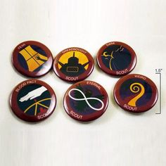 Night Vale Boy Scouts Buttons *LAST CHANCE*