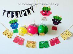 いいね!338件、コメント8件 ― hirommy anniversaryさん(@hirommy_anniversary)のInstagramアカウント: 「2017.2.3 節分ですね 昨晩、鬼の来ない(旦那さん夜いない)我が家のため、息子と鬼さん作り。 ' 風船にボンドで毛糸を貼りつけて マジックで顔を描いて出来上がり!…」 Craft Activities For Kids, Diy And Crafts, Crafts For Kids, Arts And Crafts, Paper Crafts, Japanese Kids, End Of Winter, Child Day, Flower Crafts