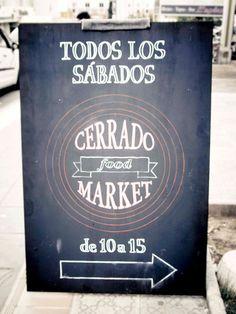 Abrimos de 10 a 15 horas. Todos los Sábados en calle Rodeo, Multicentro.  ¡Tu mercadillo de alimentación! - Cerrado Food Market.