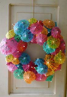 This is soooo cute!!!! Ok, who wants to have a Luau so i can try this out??? :)