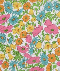 Poppy And Daisy J Tana Lawn, Liberty Art Fabrics. Shop our extensive range of Liberty Print Fabrics now at Liberty.co.uk.