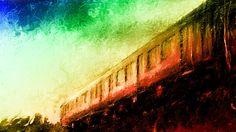 黄昏色に染まる通勤列車は、3丁目の夕日を思い浮かべながらお絵描きしてみました。  SAM SMITH - Stay With Me (Cover by Leroy Sanchez) http://youtu.be/IrVOrubcbYY