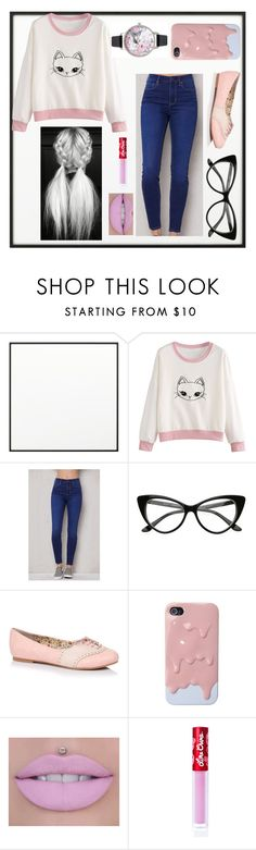 """hanging out with cats"" by liacarolina02 ❤ liked on Polyvore featuring By Lassen, PacSun, Lime Crime and Olivia Burton"