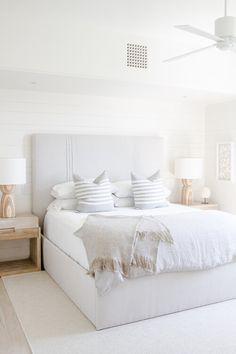 Dream Bedroom, Home Decor Bedroom, Modern Bedroom, Light Gray Bedroom, Master Bedroom, Neutral Bedroom Decor, Condo Bedroom, Serene Bedroom, White Bedroom Decor