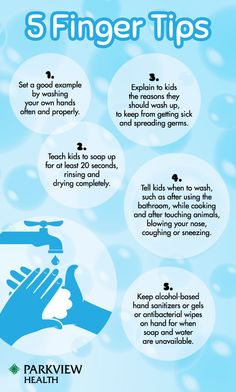 Tips for hand washing during the winter months to prevent the spread of sickness and germs. - via @ParkviewHealth #flu
