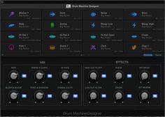 New Drum Machine Designer plug-in in Logic Pro Music Recording Studio, Logic Pro X, Recorder Music, Drum Machine, Garageband, Drums, Helpful Hints, Music Production, Beats