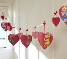 Heart Garland -  by Pottery Barn Kids