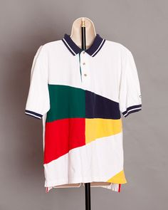 80s 90s Men's Polo Shirt - Catalina - M on Etsy, $18.00