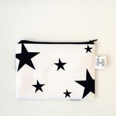 Ritszakje met zwart-witte sterren print door Latelierdejuliette