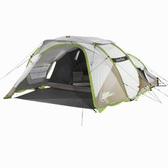 All Tents - 2 Seconds XXL IIII Illumin Fresh Pop Up Tent, Beige