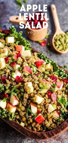 Apple Lentil Salad s