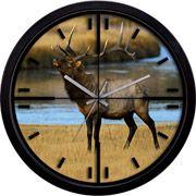 La Crosse Technology Elk Scope Clock $19