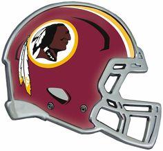 Washington Redskins Helmet Auto Emblem