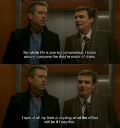 charming life pattern: house m.d - quote - compromise ...