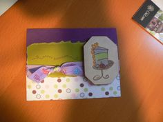 Birthday Card Birthday Cards, Happy Birthday, I Card, Card Ideas, Frame, Home Decor, Bday Cards, Happy Brithday, Picture Frame