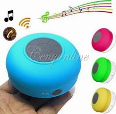 Mini Waterproof speaker Portable Mini Shower Car Suction Speaker Waterproof Bluetooth Speakers ₱4OO.OO