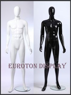 GW3 Eurotondisplay Shine lacquered abstract Display Dummy Mannequin Man
