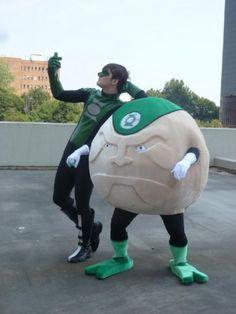 Green Lantern's Kyle Rayner and Galius Zed Cosplay