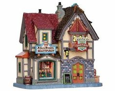 Lemax Village Collection Helga's Beer & Sausage Shop # 15270