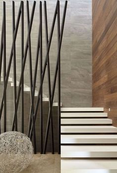 super ideas for floating stairs design railings Modern Stair Railing, Stair Handrail, Staircase Railings, Modern Stairs, Staircase Design, Stairways, Iron Railings, Interior Stairs, Interior Architecture
