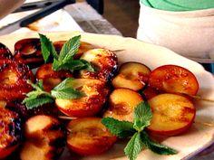 Grilled Summer Fruit Recipe : Giada De Laurentiis : Food Network - FoodNetwork.com