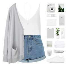 """""""love yourself [TOP SET]"""" by modernyouth ❤ liked on Polyvore featuring Topshop, Boohoo, Korres, NARS Cosmetics, Frette, adidas Originals, Carriere, Byredo and Tina Lilienthal"""