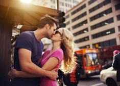 romantic couple kissing in down town los angeles Stock Photo , Romantic Couple Kissing, Romantic Couples, Romantic Movies, Flirting Quotes For Her, Flirting Memes, Couple S'embrassant, Kissing Facts, Lifetime Movies, Free Dating Sites