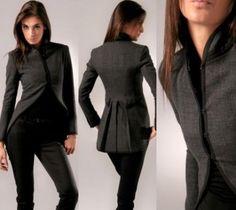 Rag & Bone's mandarin-collar wool tailcoat