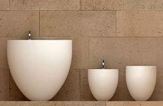 Oval Bathroom Suites by Ceramica Cielo - Le Giare