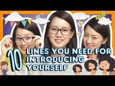 Learn 10 Lines You Need for Introducing Yourself in Japanese - YouTube