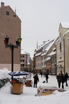 Old #Riga in #winter