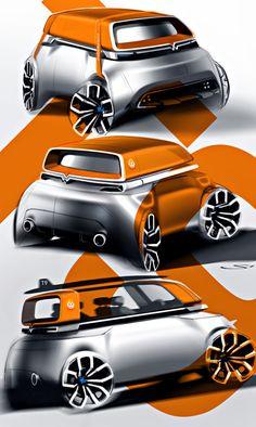 смарт - Volkswagen-Transporter-T9 - Портфолио дизайнеров - Портфолио дизайнеров - Cardesign.ru