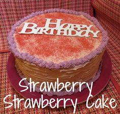 Strawberry Strawberry Cake