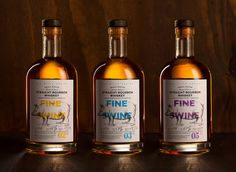 Mighty fine bourbon for whiskey connoisseurs. Fine Swine Whiskey is a  premium variety of American-style whiskey created for a market outside of  the US. The small-batch bourbon was designed by MARK Studio.
