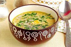Брюссельский суп из шампиньонов
