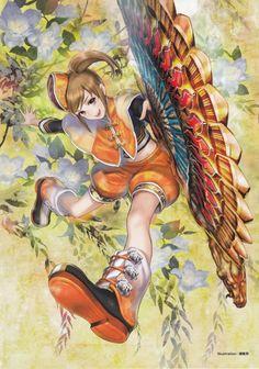 Xiao Qiao from Dynasty Warriors Warriors Game, Dynasty Warriors, Game Character, Character Design, Sengoku Basara, Anime Art Fantasy, Samurai Warrior, Pretty Pictures, Girls Girls Girls