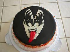 Gene Simmons cake