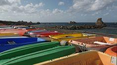 godilles de couleurs à Poulennou