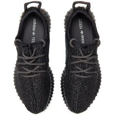 """adidas Adidas Yeezy Boost 350 """"Pirate Black"""" ($1,500) ❤ liked on Polyvore featuring shoes, sneakers, adidas, black shoes, adidas shoes, pirate shoes and adidas footwear"""