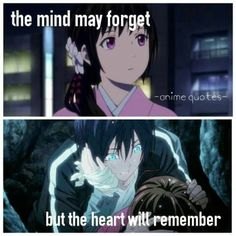 Hiyori could never forget Yato! It's come close a few times but she always remembers Manga Anime, Otaku Anime, Diabolik Lovers, Yukine Noragami, Yatori, Animes To Watch, Sad Anime Quotes, All Meme, Anime Life