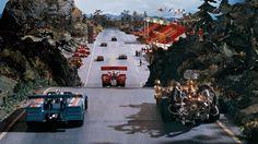 Det spektakulære billøpet er høydepunktet i Flåklypa Grand Prix (Foto: Caprino Studios).