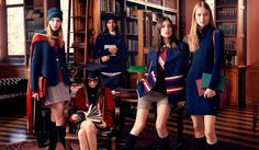 Tommy Hilfiger Autumn-Winter 2013/2014: back to College