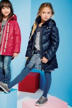 Buy Navy Long Padded Coat (3-16yrs) from the Next UK online shop